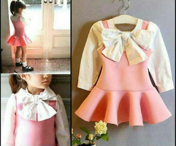 Baju Dress Pita Anak Perempuan Terbaru Cantik dan Lucu