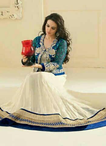 Baju Long Dress Gaun India Cantik dan Murah Model Terbaru