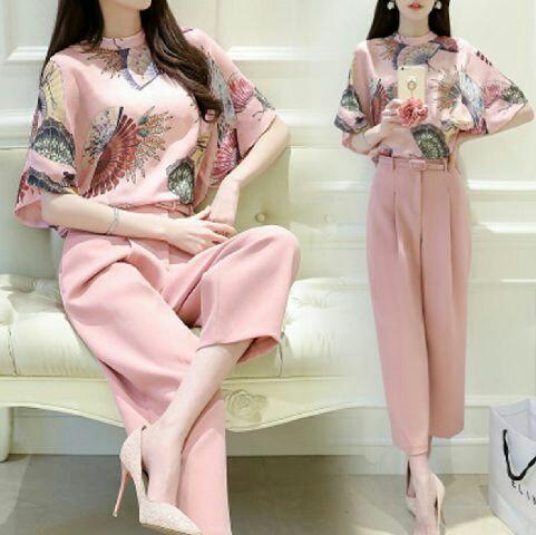 Baju Setelan Celana Panjang Wanita Dewasa Model Terbaru