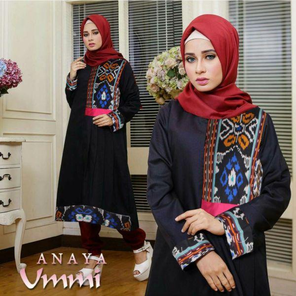 Baju Setelan Hijab Celana 3 in 1 Modis Model Terbaru Modern