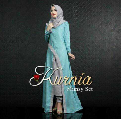 Baju Setelan Hijab Celana Outer 3 In 1 Modis Model Terbaru Ryn Fashion