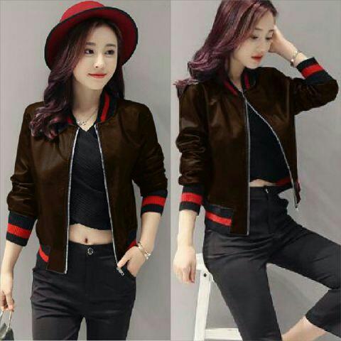 Jaket Wanita Keren Trendy Cantik Unik Model Terbaru Modern