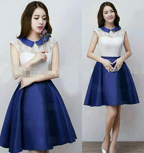 Model Baju Dress Pendek Cantik dan Murah Simple Terbaru