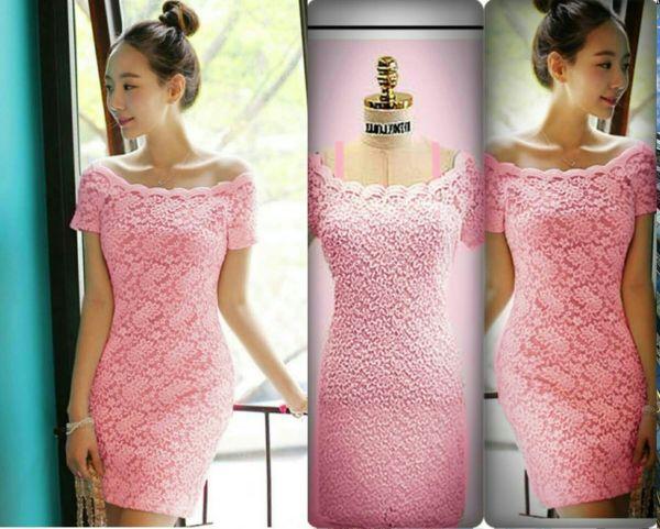 Model Baju Sabrina Dress Pendek Pesta Cantik Terbaru