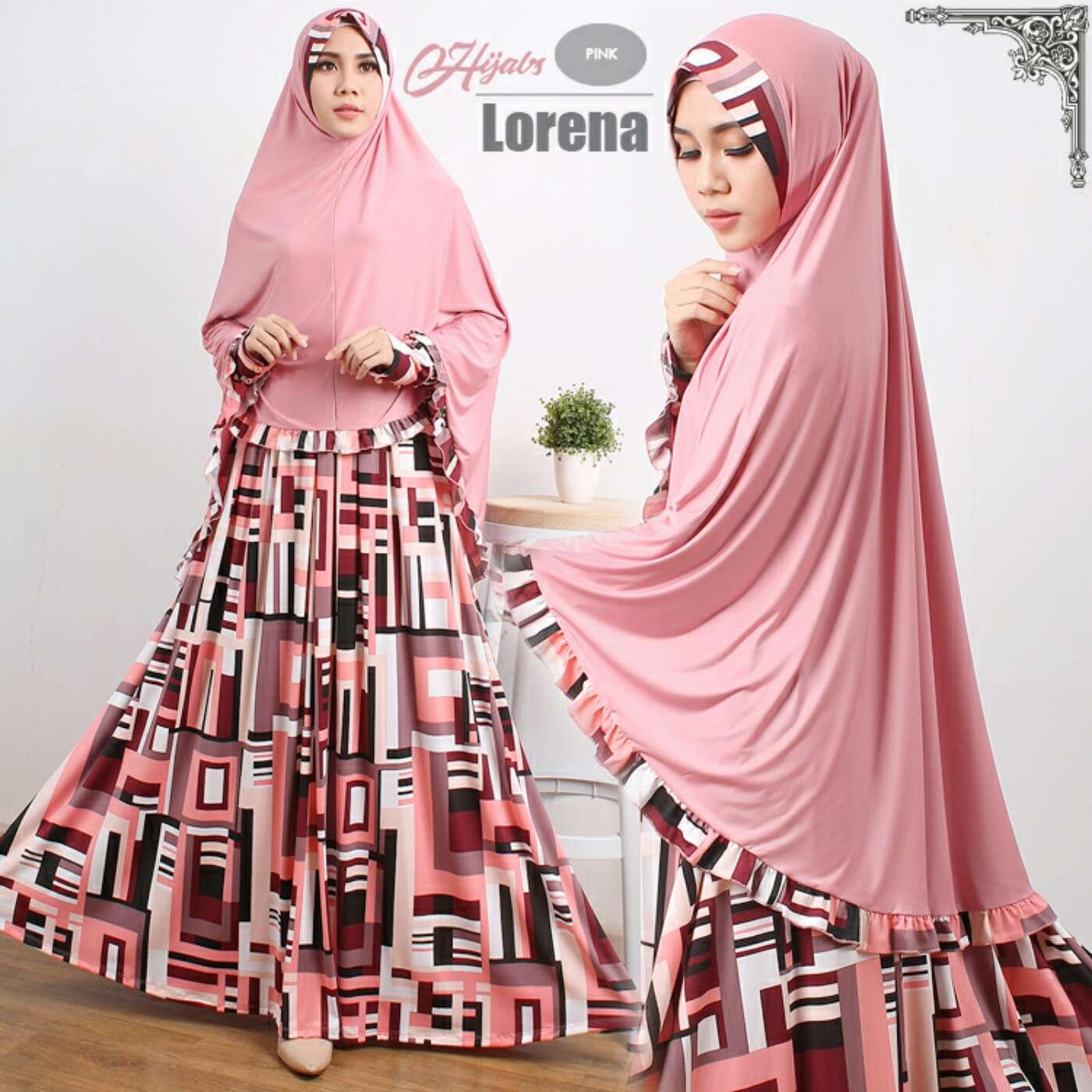 Model Busana Muslimah Setelan Gamis Syari Busui Modern Terbaru