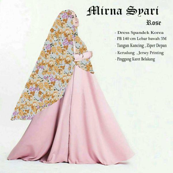 Model Gamis Syari Modern Terbaru Pakaian Setelan Muslimah