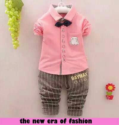 Model Setelan Baju Anak Laki Modern Terbaru Jaman Sekarang