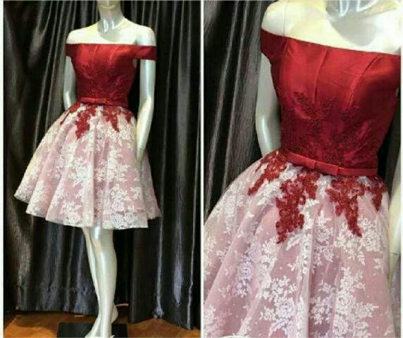 Model Terbaru Baju Dress Pendek Sabrina Cantik dan Murah