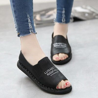 Sepatu Sandal Flat/Teplek Wanita Modern Model Terbaru