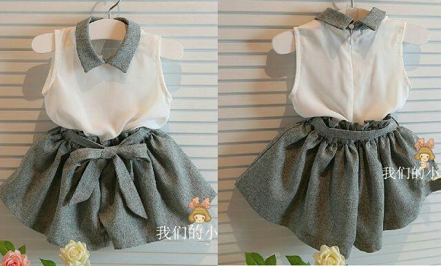 Setelan Baju Anak Perempuan Modern Model Terbaru