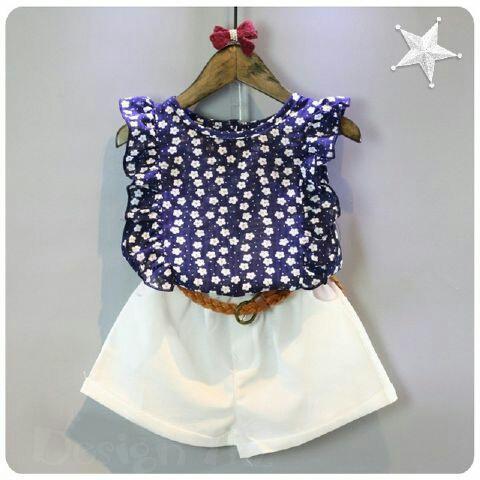 Setelan Baju dan Celana Anak Perempuan Model Terbaru