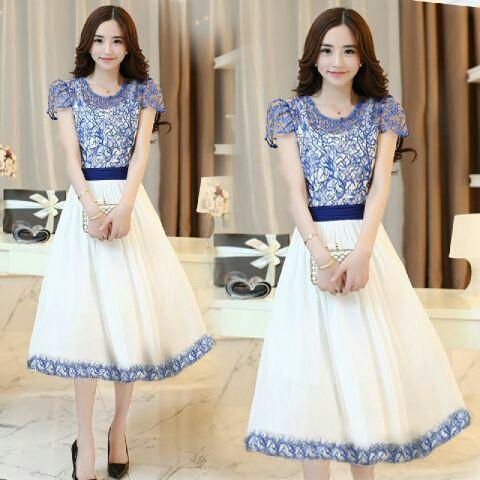 Baju Dress Cantik dan Murah Desain Modern Model Terbaru