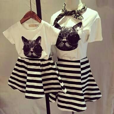 Baju Dress Couple Mama (Ibu) dan Anak Cantik Model Terbaru