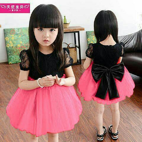 Baju Dress Pesta Anak Perempuan Model Terbaru Cantik dan Lucu