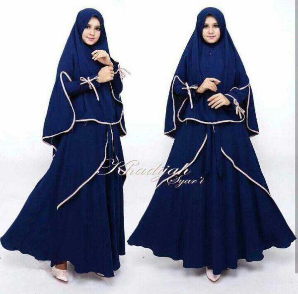 Baju Setelan Hijab Gamis Syari Jilbab Bergo Modern Modis Terbaru