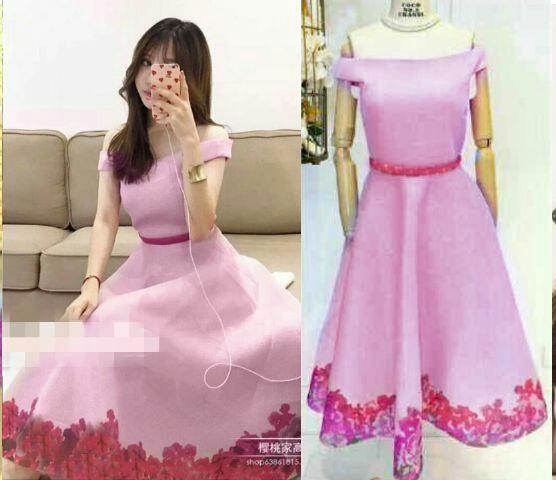 Model Baju Dress Pendek Wanita Dewasa Terbaru Cantik Modern