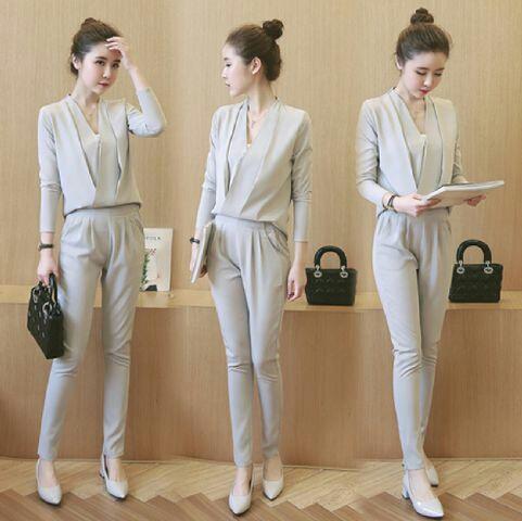 Setelan Baju dan Celana Panjang Wanita Dewasa Model Terbaru