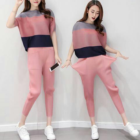 Setelan Baju dan Celana Wanita Dewasa Model Terbaru Modern