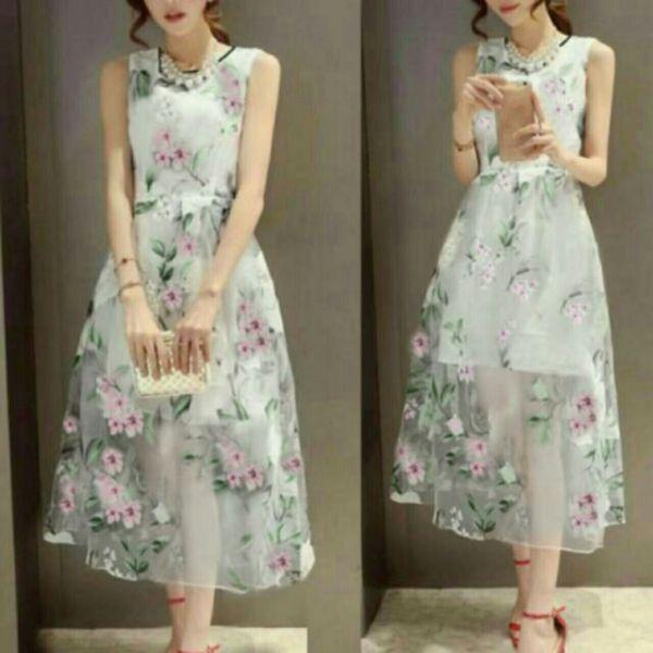 Baju Dress Tile Cantik dan Murah Desain Modern Model Terbaru