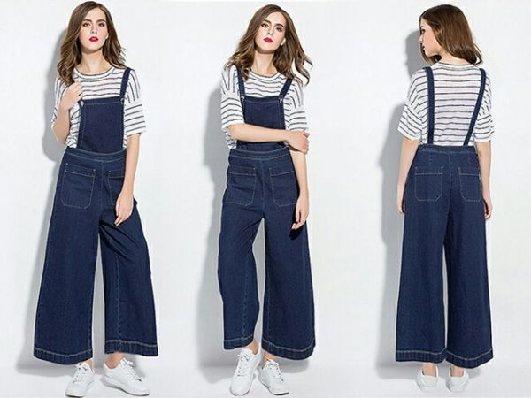 Baju Jumpsuit Celana Kodok Model Kulot Panjang Modern Terbaru