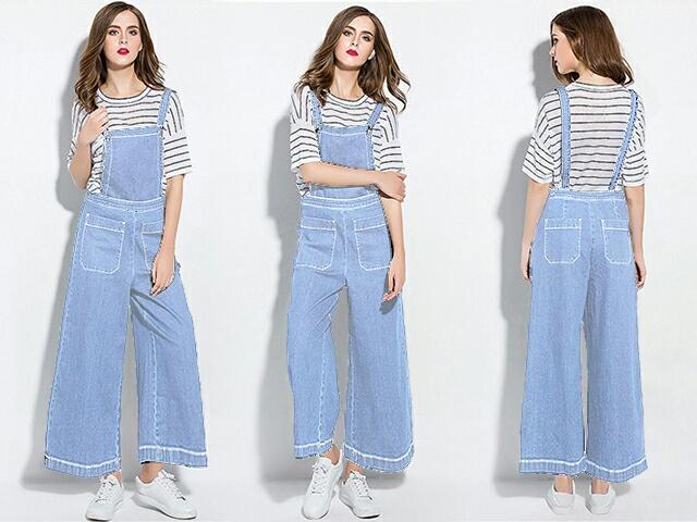 Baju Jumpsuit Celana Kodok Model Kulot Panjang Modern ...