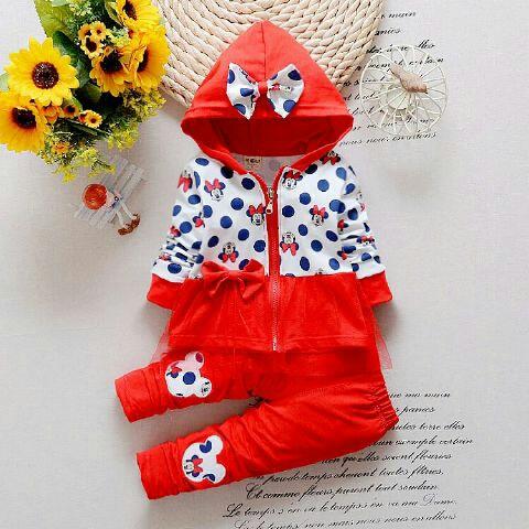 Baju Setelan Jaket Anak Perempuan Cantik dan Lucu Model Terbaru