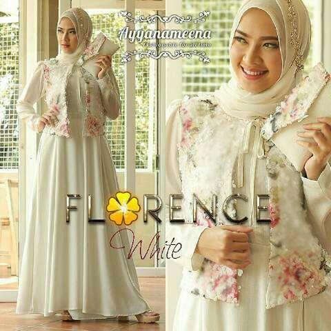 Model Baju Gamis Modern Setelan Hijab Modis Terbaru & Cantik