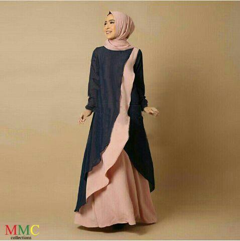 Model Baju Gamis Modern Terbaru Cantik Modis Unik dan Murah