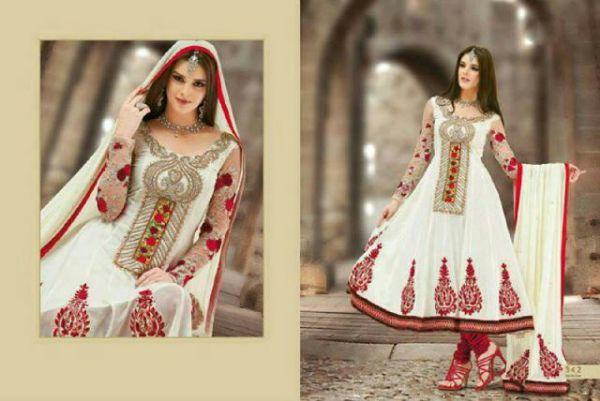 Setelan Baju Gaun Long Dress Muslim Model India Cantik Terbaru