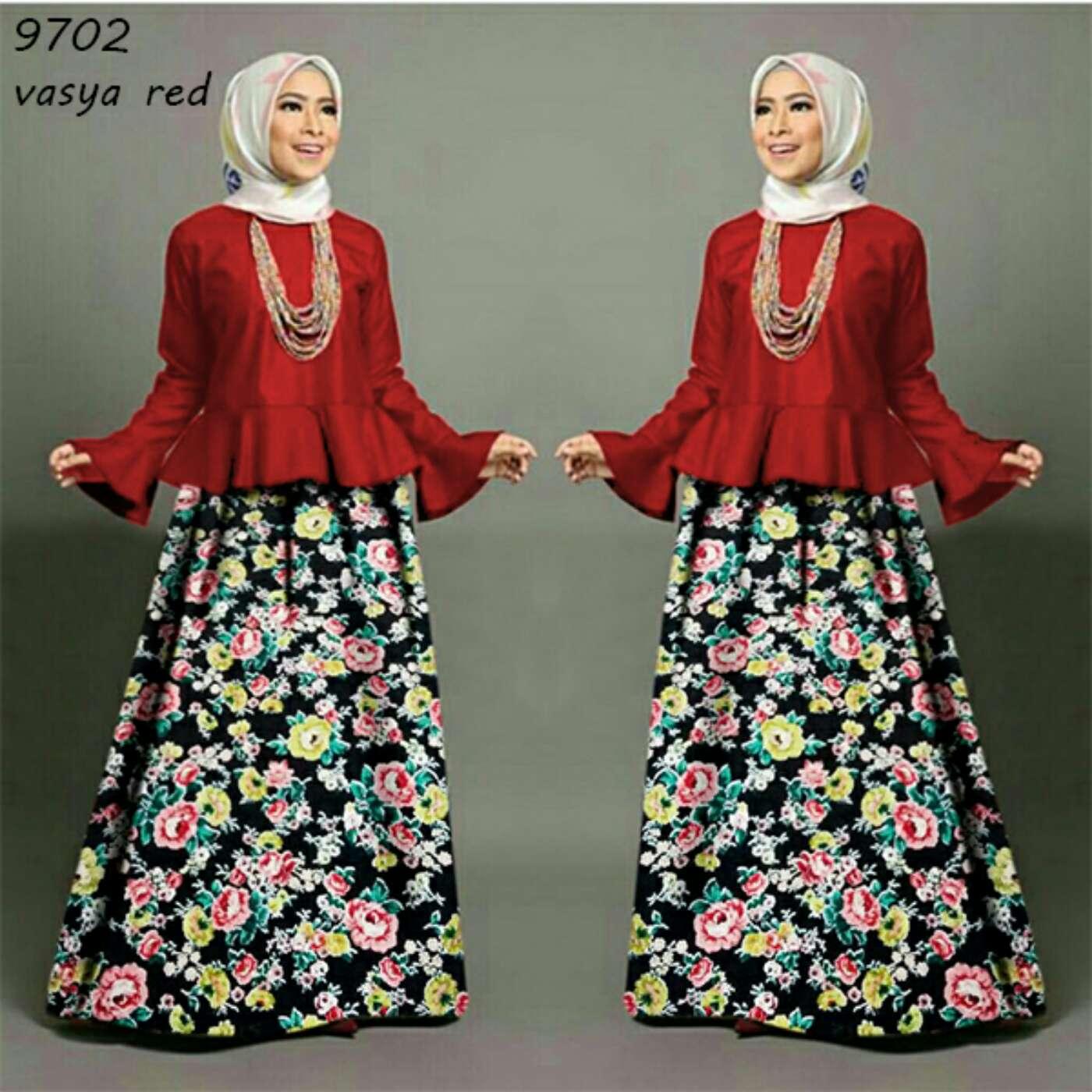 Setelan Hijab Modis Baju dan Rok Modern Cantik Model Terbaru