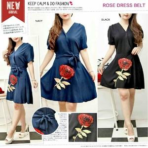 Baju Dress Kimono Lengan Pendek Bahan Katun Cantik Modern