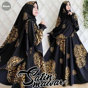 Baju Gamis Syari Modern Model Terbaru Setelan Hijab Muslimah