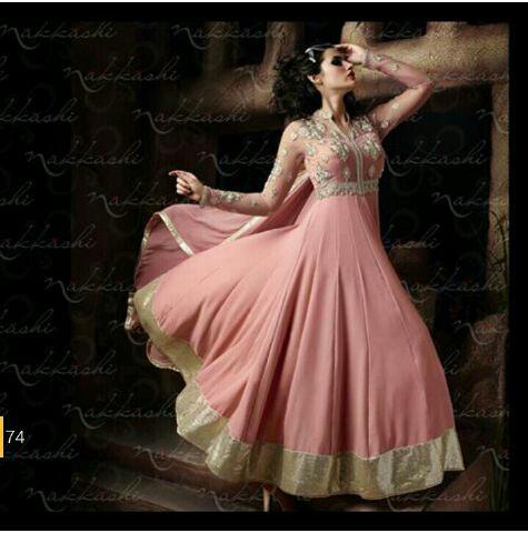 Setelan Baju Gaun India Muslimah Cantik Modern Model Terbaru