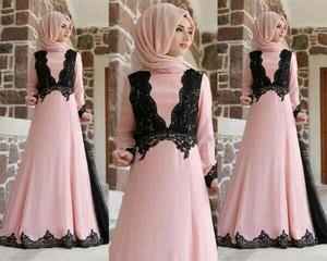 Model Baju Long Dress Muslim Gamis Setelan Hijab Modern Terbaru