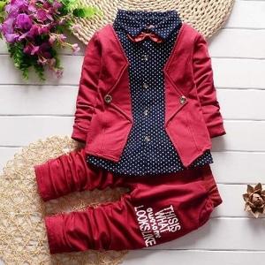 Baju Setelan Anak Laki-laki Desain Jas Celana Panjang Keren