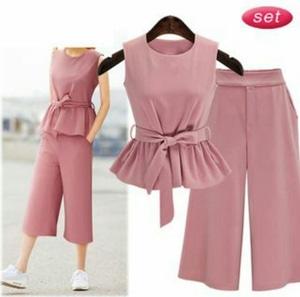 Baju Setelan Celana Kulot Modis & Murah Model Terbaru