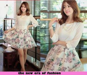 Baju Style Mini Dress Party Fashion Pendek Wanita Cantik Modern