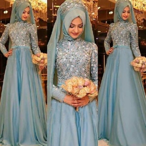 Model Setelan Baju Gamis Muslim Hijab Cantik Modern Terbaru