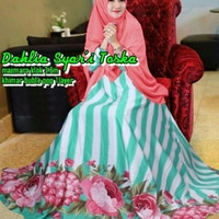 Pakaian Gamis Syari Busui Setelan Hijab Muslimah Wanita Dewasa