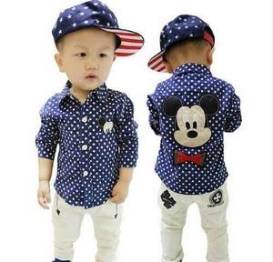 Setelan Baju dan Celana Panjang Anak Laki-laki Model Terbaru