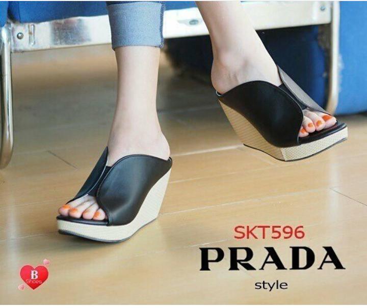 ed688749fabf Model Sandal Wedges Wanita Terbaru Cantik Modern dan Murah