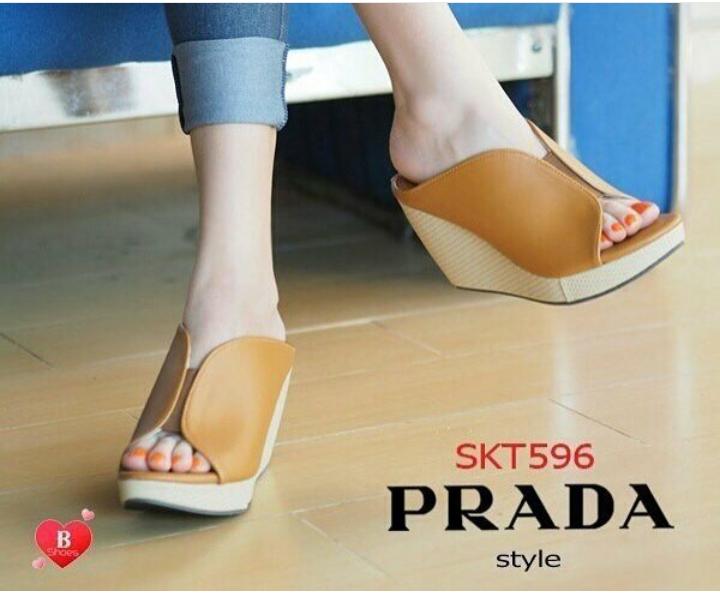 Model Sandal Wedges Wanita Terbaru Cantik Modern dan Murah