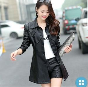 Model Jaket Kulit Wanita Ala Korea Modern Terbaru Keren dan Murah