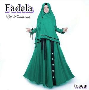 Model Baju Gamis Syari Pakaian Muslimah Wanita Modern Terbaru Bahan