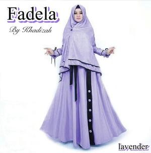 Model Baju Gamis Syari Pakaian Muslimah Wanita Modern Terbaru Bahan Jersey
