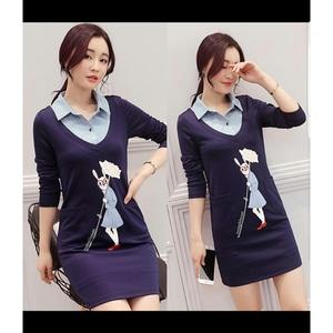 Model Baju Mini Dress Pendek Kerah Fashion Wanita Modern Terbaru Masa Kini