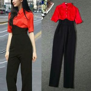 Model Baju Jumpsuit Wanita Warna Kombinasi Cantik Terbaru Modern Ala Korea