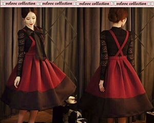 Baju Mini Dress Pendek Setelan Overall Rok Kodok Wanita Cantik Model Terbaru