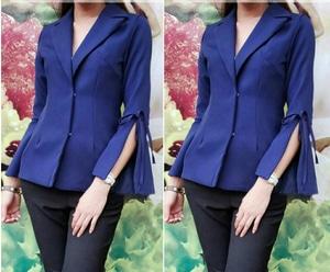 Baju Blazer Wanita Modern Cantik Model Terbaru Desain Modis ala Korea Masa Kini