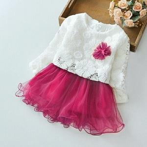 Setelan Baju Lace dan Rok Tile Mini Pendek Anak Perempuan Cantik Model Terbaru